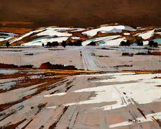 Prairie Winter (Study), by Min Ma