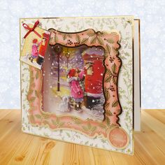 What an excellent take on the concept card! This is brilliant and so inventive! Card Making Inspiration, Christmas Inspiration, 3d Cards, Christmas Cards, Acetate Cards, Hunkydory Crafts, Christmas Projects, Christmas Ideas, Heartfelt Creations