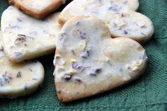 galletas de limon y lavanda
