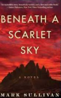 This book club will be discussing Mark Sullivan's fiction novel Beneath a Scarlet Sky. Books Online, Reading Online, Books To Read, My Books, Teen Books, Noble Books, Historical Fiction Books, Thriller, Make You Cry