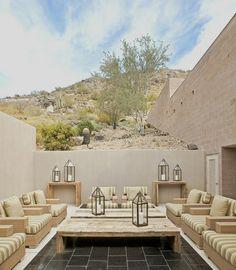 mediterranean patio by Palm Design Group