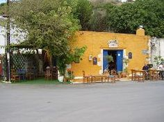 Village cafeneion - time for a mythos