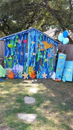 Jackson's bubble guppies party | CatchMyParty.com