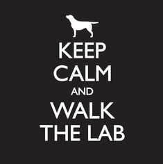 Keep Calm - Mens - Black – Labradors Worldwide Store