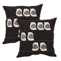 I pinned this Ariadne Pillow in Black from the Plush Pillows Under $40 event at Joss and Main!