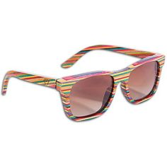 Recycled Skateboard Sunglasses #diamondsupplyco
