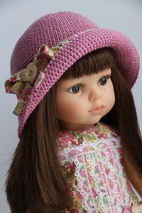 МК Авторская шляпка от Ольги Бабушкиной | Любимая кукла Паола Рейна (Paola Reina) ♥ г. Иже