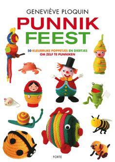 Punniken is een leuke bezigheid. Als je eenmaal begint aan zo'n lange sliert is het moeilijk om ermee te stoppen. Maar wat maak je nou met zo'n mooie punnikdraad? Dit boek laat zien wat je ermee kunt maken: een clowntje, een visje, een bij, een hondje, een papegaai en nog veel meer. Een heerlijk boek om samen met kinderen aan de slag te gaan.