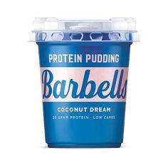 Barbells protein pudding i gode smaker og med hele 20 g protein per porsjon. Sunn dessert eller mellommåltid! Gode smaker og perfekt konsistens Kan oppbevar