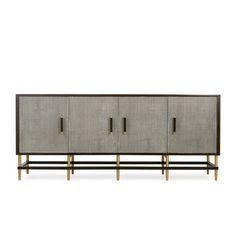 Buffets and Cabinets ideas  bufffet for a luxury living room  www.bocadolobo.com #interiordesign #decor #moderncabinets #buffetdecor
