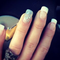 Bling accent nail