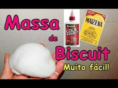 COMO FAZER MASSA DE BISCUIT/MASSINHA PARA BONECA BARBIE E MONSTER HIGH - YouTube