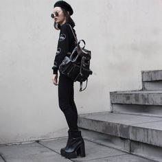 New outfit post is now up on my blog at #plaaastic.com, wearing @morph8ne_official and @lamoda  (at www.plaaastic.com)