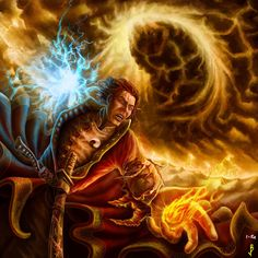 Rand Al' Thor from Wheel of Time. Celebrating a year of digital art. Time Series, Book Series, Fantasy Books, Fantasy Art, Fantasy Warrior, Wheel Of Times, Wheel Of Time Books, Robert Jordan, Time Art