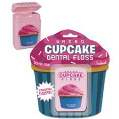 Je gebit goed verzorgen is natuurlijk haaaartstikke belangrijk!  Maar het mag ook een beetje leuk zijn; dit blikje met 'cupcake tandenfloss' helpt je daarbij en oh; met (subtiele) Frostingsmaak!  www.teitloos.nl/cupcake-tandenfloss.html