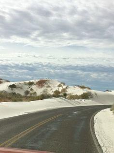 White Sands National Monument in Alamogordo, NM