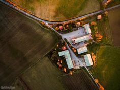 """Farm   Vertical - DJI Phantom 3 Advanced  Press """"H"""" for View on Black  © All Right Reserved"""