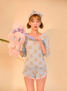 곰돌이 좋아 pajama+hairband set - I know you wanna kiss me. Thank you for visiting CHUU.