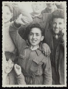 [Photograph of children taken during Josephine Herbst's visit to Spain during the Spanish Civil War]. 1937. Beinecke Rare Book & Manuscript Library Digital Colelctions, Yalu University