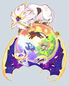 pokemon sun/moon by steg0saur on DeviantArt