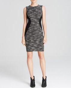 AQUA Dress - Tweed Bodycon | Bloomingdale's