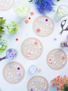 My DIY Bridal Shower Invitations