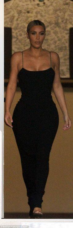 Kardashian makes an entrance