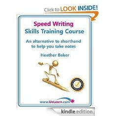 Speed Writing Skills Training Course: Speedwriting for Faster Note Taking and Dictation, an Alternative to Shorthand to Help You Take Notes Speed Writing, Writing Skills, Writing Ideas, Skill Training, Training Courses, Burrito Wrap, Free Stuff By Mail, Note Taking, You Take