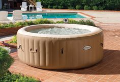Portable Hot Tub Spa Inflatable Heated Jacuzzi Pool Intex 4 Person for sale online Piscina Intex, Intex Whirlpool, Whirlpool Bathtub, Spa Intex 4 Places, Spa Portable, Intex Hot Tub, Intex Pool, Best Inflatable Hot Tub, Ideas Terraza
