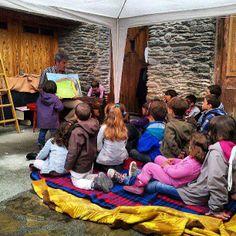 Conta-contes infantil a la 2a Fira d'Arrós de Cardós