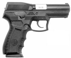 IMI / IWI SP-21 Barak pistol (Israel)  Characteristics  Type: Double Action  Calibers: 9x19mm Luger, .40SW, .45ACP  Weight unloaded: 730 gram (760 gram for .45ACP)  Length: 188 mm  Barrel length: 99 mm  Capacity: 10 rounds for US market in all calibers; 15 rounds in 9mm original