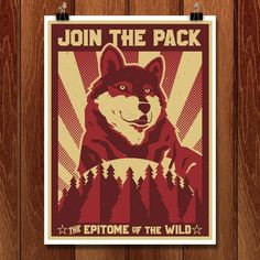 Join the Pack by Michael Czerniawski for Join the Pack by Creative Action Network - 1