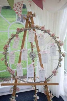 Wedding Table Themes Seating Plans Mariage New Ideas Wedding Table Themes, Wedding Favor Table, Seating Plan Wedding, Rustic Wedding Favors, Diy Wedding, Wedding Flowers, Wedding Decorations, Seating Plans, Wedding Ideas