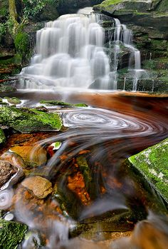 Shay's Run, West Virginia by Rajesh Bhattacharjee ~Taken in Blackwaterfalls State Park, West Virginia.*