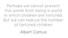Perhaps we cannot prevent this world from being a world...