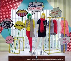 Pin by mannequin mall on womens clothing display in 2019 butik, dekor, tasa Visual Merchandising Displays, Visual Display, Display Design, Store Design, Fashion Displays, Clothing Displays, Retail Windows, Store Windows, Shop Window Displays