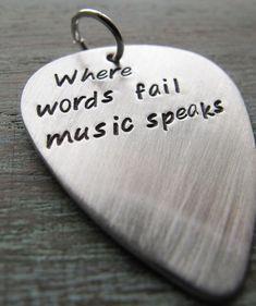 where word fails , music speaks :)