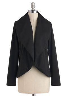 Easygoing Essential Cardigan, #ModCloth  a cardigan with the style of a blazer. yes please