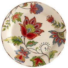I have never met a plate I love more. Painted Ceramic Plates, Ceramic Painting, Ceramic Art, Decorative Plates, Pottery Plates, Ceramic Pottery, Pottery Art, Plates On Wall, Plates And Bowls