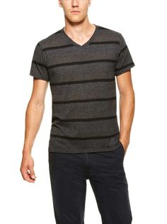 Triple Stripe V Neck tee by Threads 4 Thought - Found at #GiltLive via @GiltGroupe