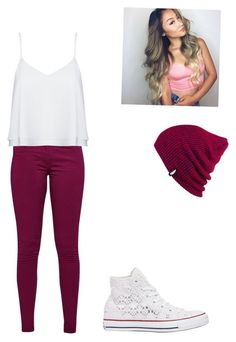"""""""Untitled #108"""" by averyvalclaunch on Polyvore featuring Great Plains, Alice + Olivia, Converse and Vans"""