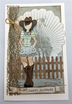 Forget Glass Slippers- Prima Doll Becky by MALK3 - Cards and Paper Crafts at Splitcoaststampers