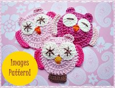 Mimi Owls Crochet Pattern.