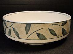 "Mikasa Intaglio Natures Song Vegetable Serving Bowl 8 1/4"" CAA06 MINT! #Mikasa"