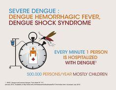 Dengue hospitalisation statistics by Sanofi Pasteur, via Flickr  http://www.dengue.info