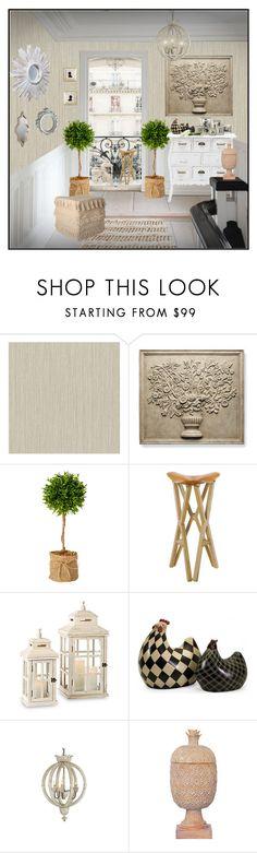 """Sin título #837"" by yblacasa on Polyvore featuring interior, interiors, interior design, hogar, home decor, interior decorating, Frontgate, Home Decorators Collection, Dauphin y Port 68"