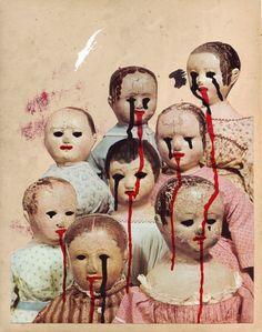 Satan loves us all. Creepy Cute, Scary, Satan, Little Girl Lost, Horror, Grunge, Look Dark, Alice Madness, Foto Real