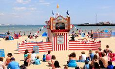 Punch and Judy Show http://www.theguardian.com/travel/2012/aug/03/seaside-uk-beaches-resorts #SummerwithCrew