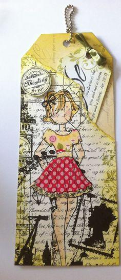 Riley Prima Doll Stamp