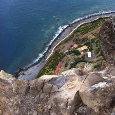 View from Cabo Girao, Madeira island